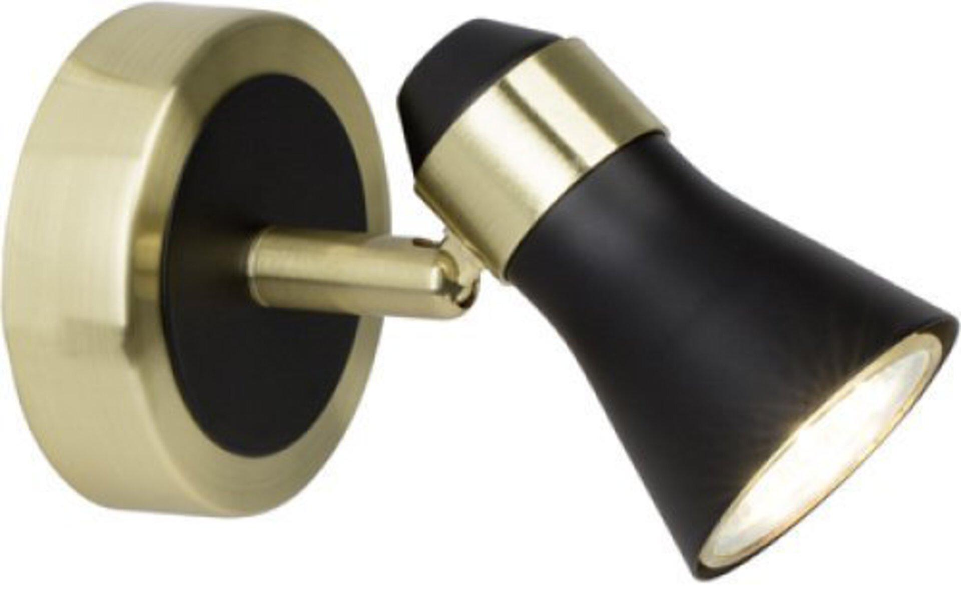 Strahler JUPP Brilliant Metall gold 8 x 11 x 14 cm