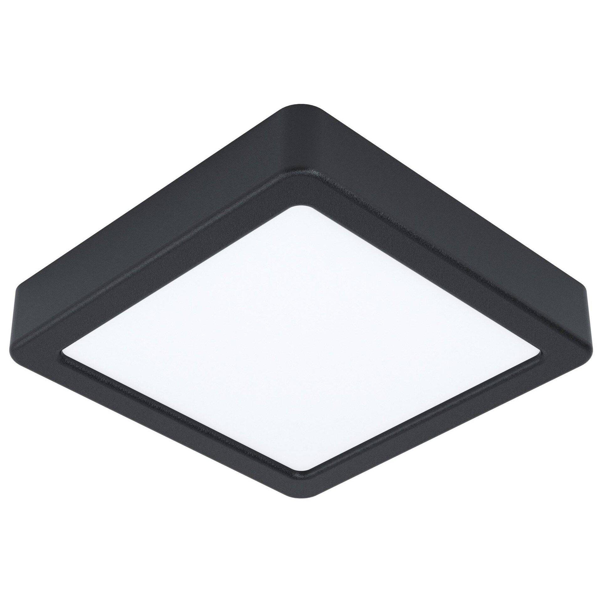 Deckenleuchte FUEVA 5 Eglo Metall schwarz 16 x 3 x 16 cm