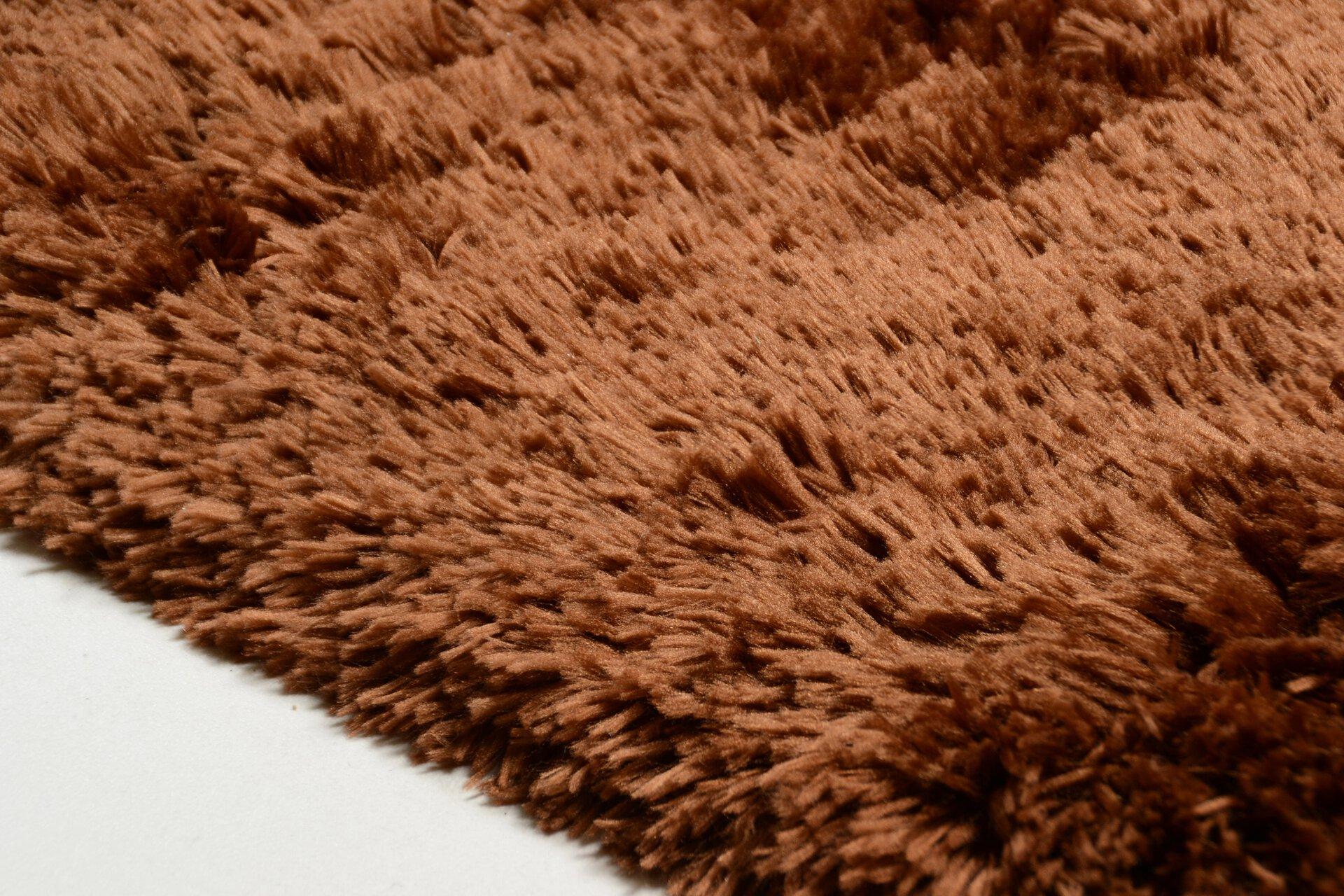 Handtuftteppich Flokato Theko Textil orange