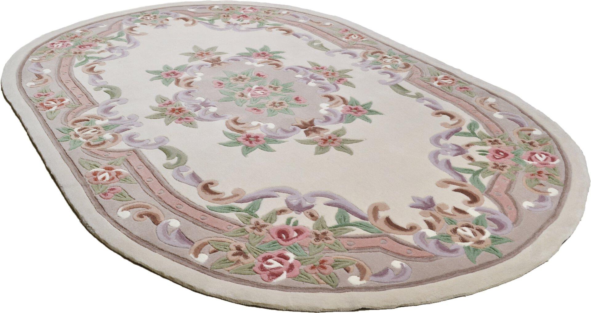 Handtuftteppich Ming Theko Textil braun 1 x 1 cm