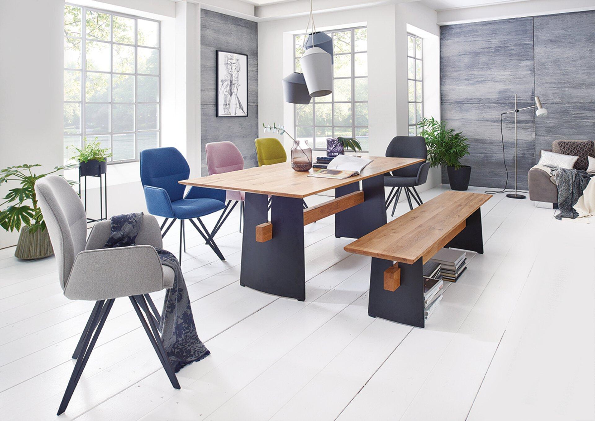 Sitzbank MERLOT Niehoff Sitzmöbel Metall mehrfarbig