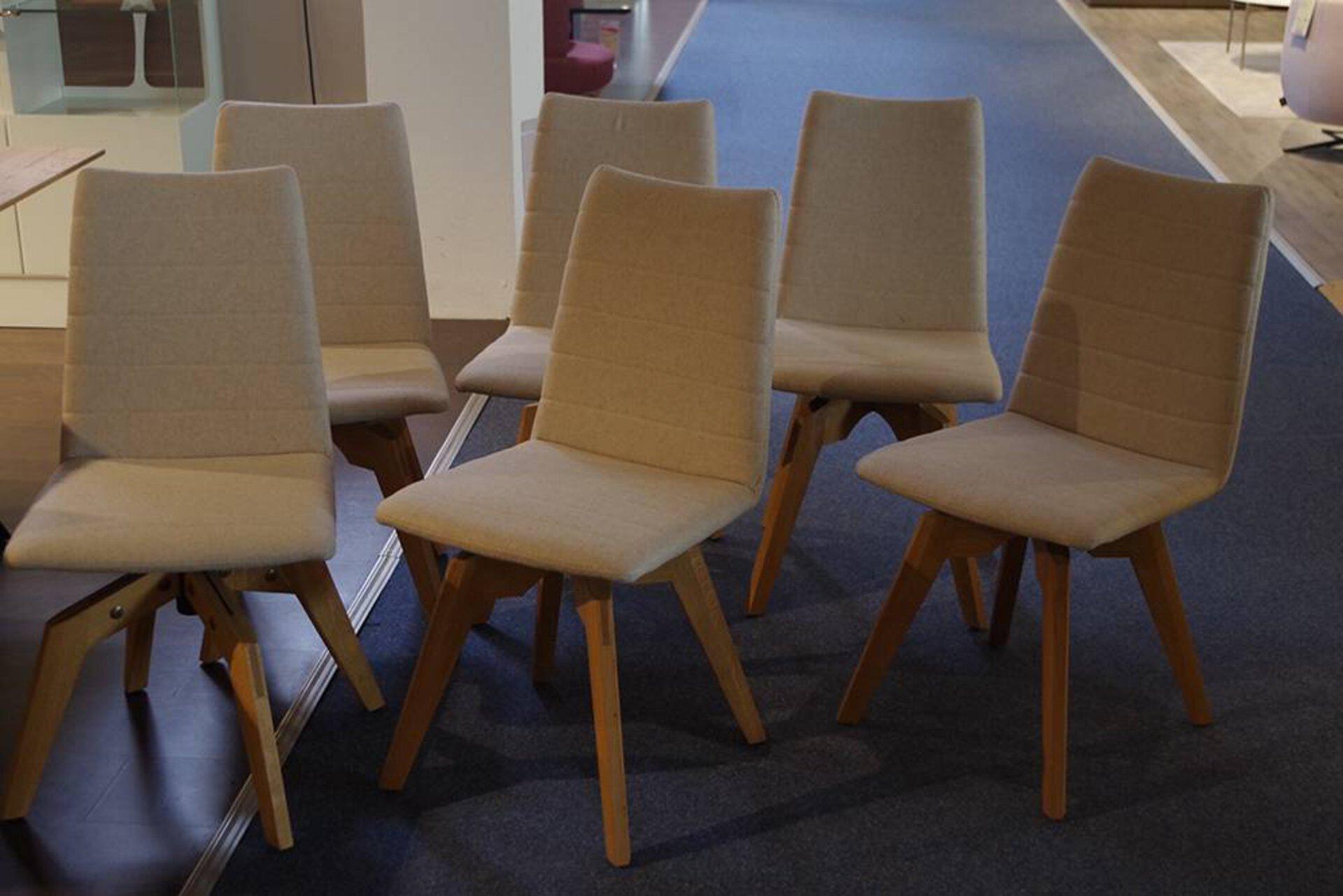 Stühle (6 Stück) CUBE PREMIUM